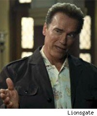 Arnold Schwarzenegger in The Expendables