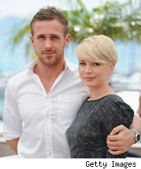 Michelle Williams and Ryan Gosling at Cannes Film Festival 2010