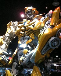 Comic Con and 'Transformers 3' Scoop