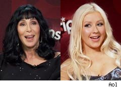 Burlesque Unscripted Interview with Cher and Christina Aguilera
