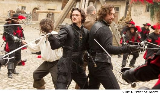 'The Three Musketeers' (2011)