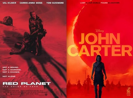 'John Carter' Poster: Finally Learn What Was Stalking Val ...