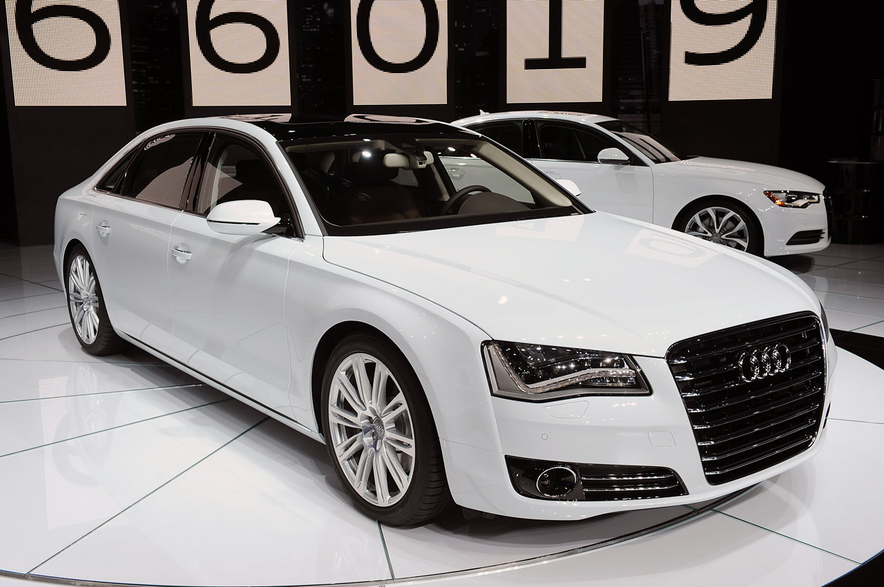 2014 Audi A8 TDI sel ing to Canada as oil burner popularity grows