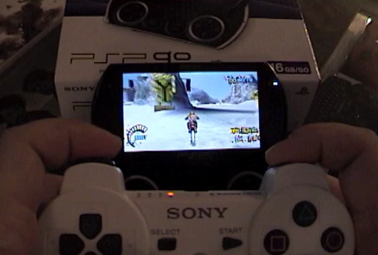 hands on psp go im video engadget deutschland. Black Bedroom Furniture Sets. Home Design Ideas