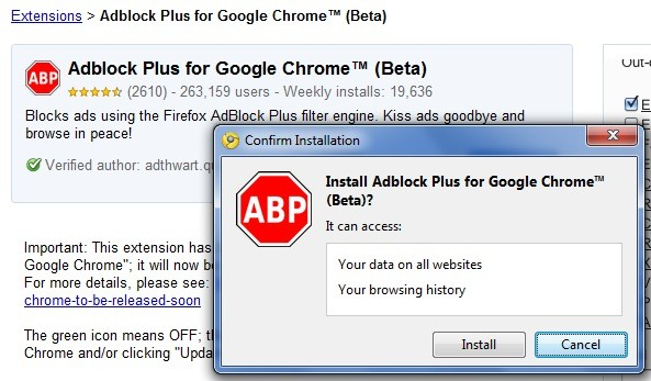 Curt's blog: Adblock Plus for Chrome now available