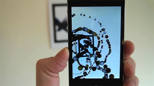 Konstruct generative augmented reality art for iOS