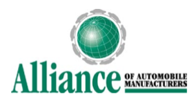 Alliance Of Automobile Manufacturers >> Auto Alliance Comes Out In Favor Of New Federal Fuel Economy