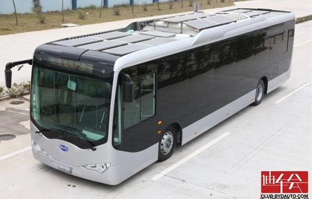 Smrt Orders 10 Electric Buses From Byd