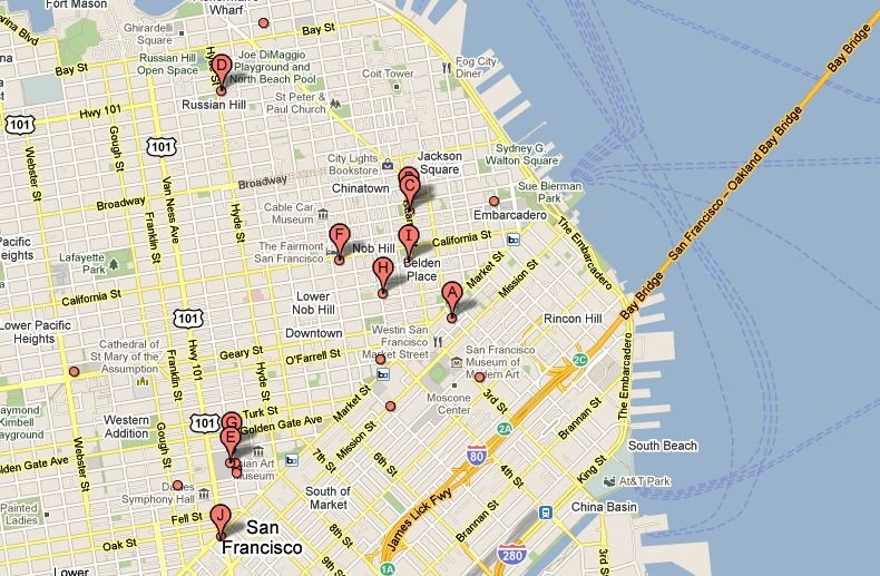 Google Maps Electric Car Charging Stations