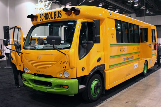 Trans Tech Wheels Out Electric School Bus With 130 Mile