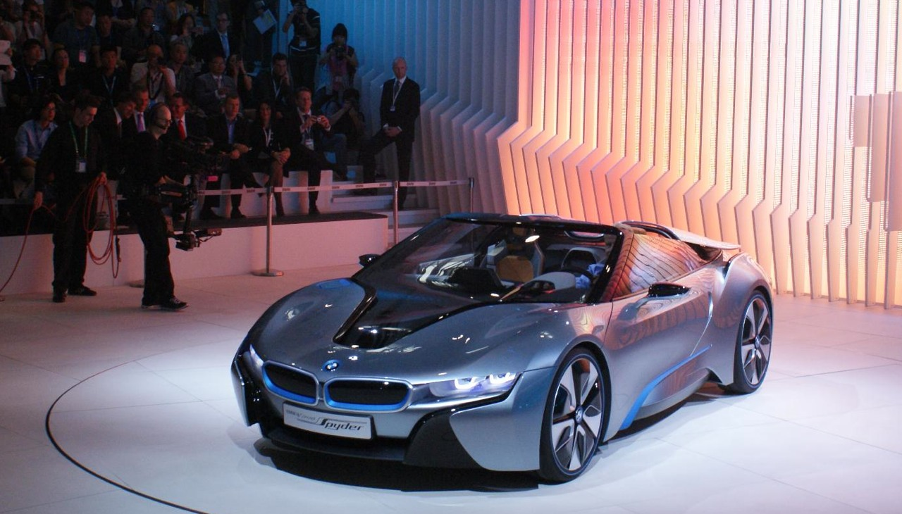 Bmw Certified Pre Owned >> BMW i8 Spyder takes to the stage bearing eDrive name ...