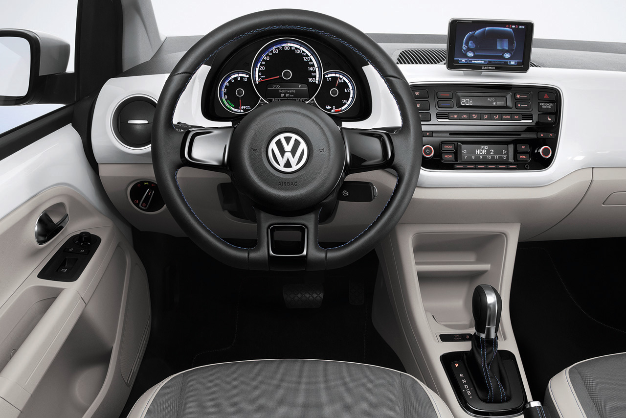 New Volkswagen E Up Debuts With 93 Mile Range Combined