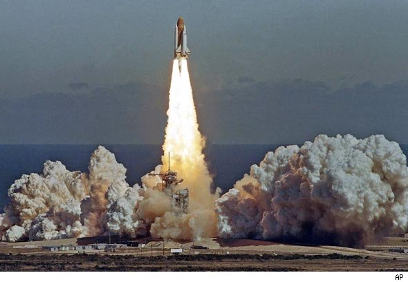 Space Shuttle Explosion 2011 - Pics about space