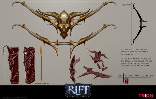 Take A Peek At Rifts Shiny Infernal Dawn Concept Art