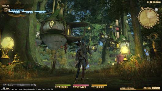 Final Fantasy XIV shows off A Realm Reborn on the PlayStation 3