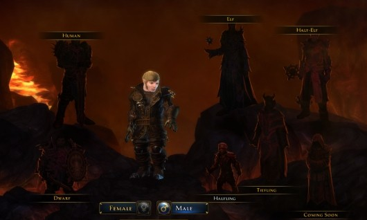 Hands-on with Neverwinter's character creator
