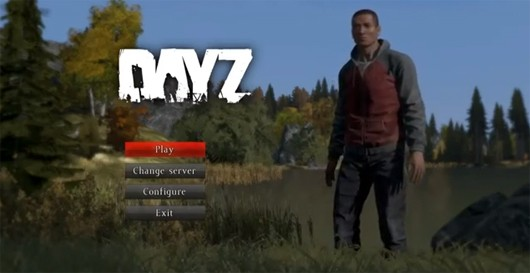 The Main Menu shows how your current character looks and gives off a very minimalist feel.