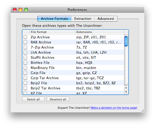 TUAW's Daily Mac App: The Unarchiver