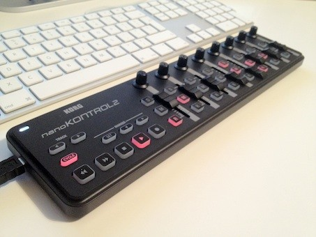 recording using a korg nanokontrol 2 with reaper songwriting home recording tips. Black Bedroom Furniture Sets. Home Design Ideas