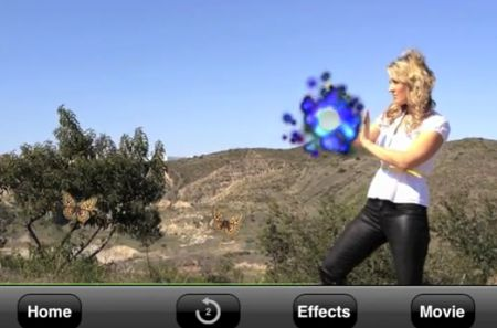 daily iphone app pyropainter is special fx made easy on the iphone