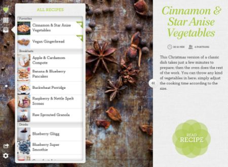 Daily IPad App: Green Kitchen Offers Healthy Recipes In A Great Looking App Pictures Gallery