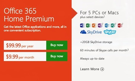 microsoft office 365 home. microsoft office 365 home premium brings inexpensive power to macs updated
