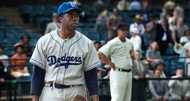 Chadwick Boseman, 42 movie