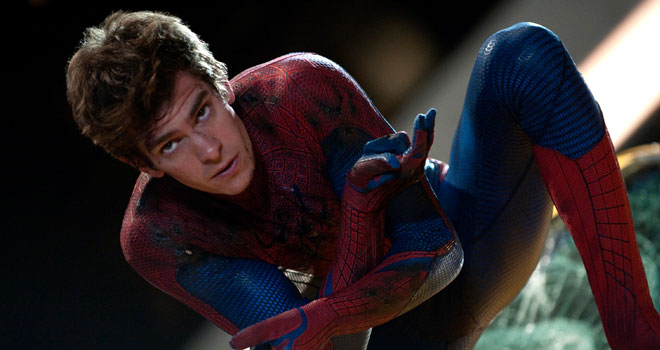 Andrew Garfield in 'The Amazing Spider-Man'