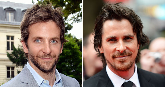 Bradley Cooper and Christian Bale