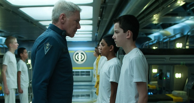 Harrison Ford, Asa Butterfield, Ender's Game