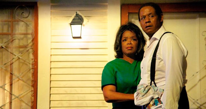 Oprah and Forest Whitaker in 'Lee Daniels' The Butler'
