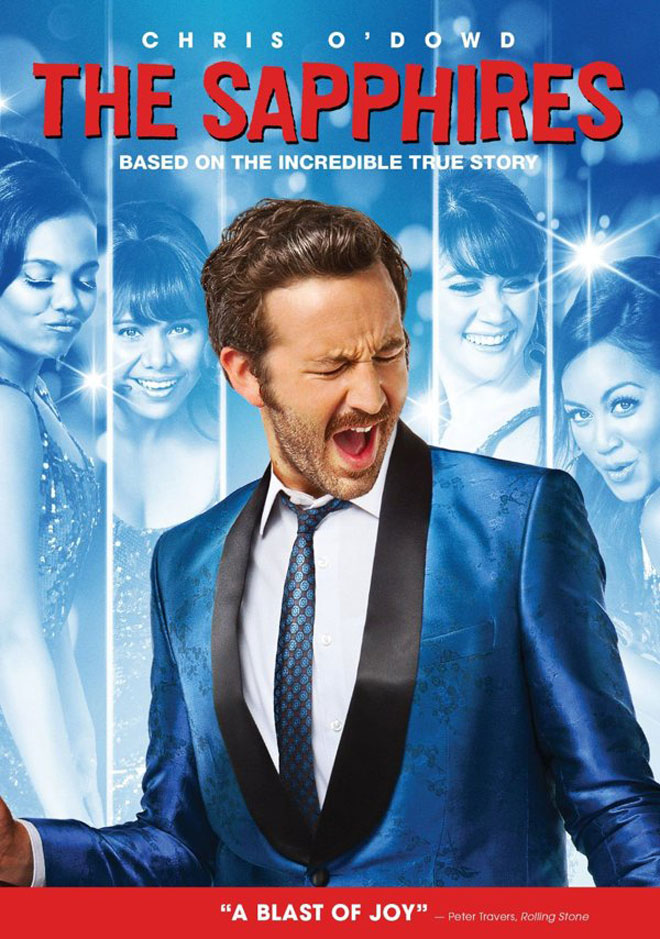 'The Sapphires' U.S. DVD Cover
