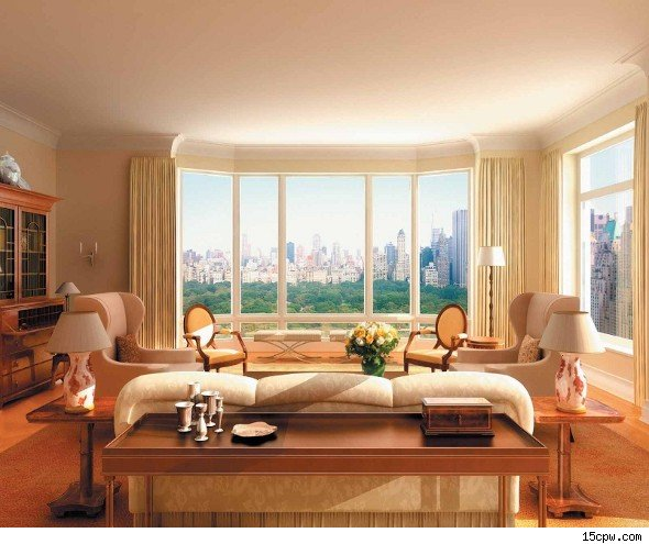 15 Cpw: Former Citigroup CEO Sandy Weill's Central Park Penthouse