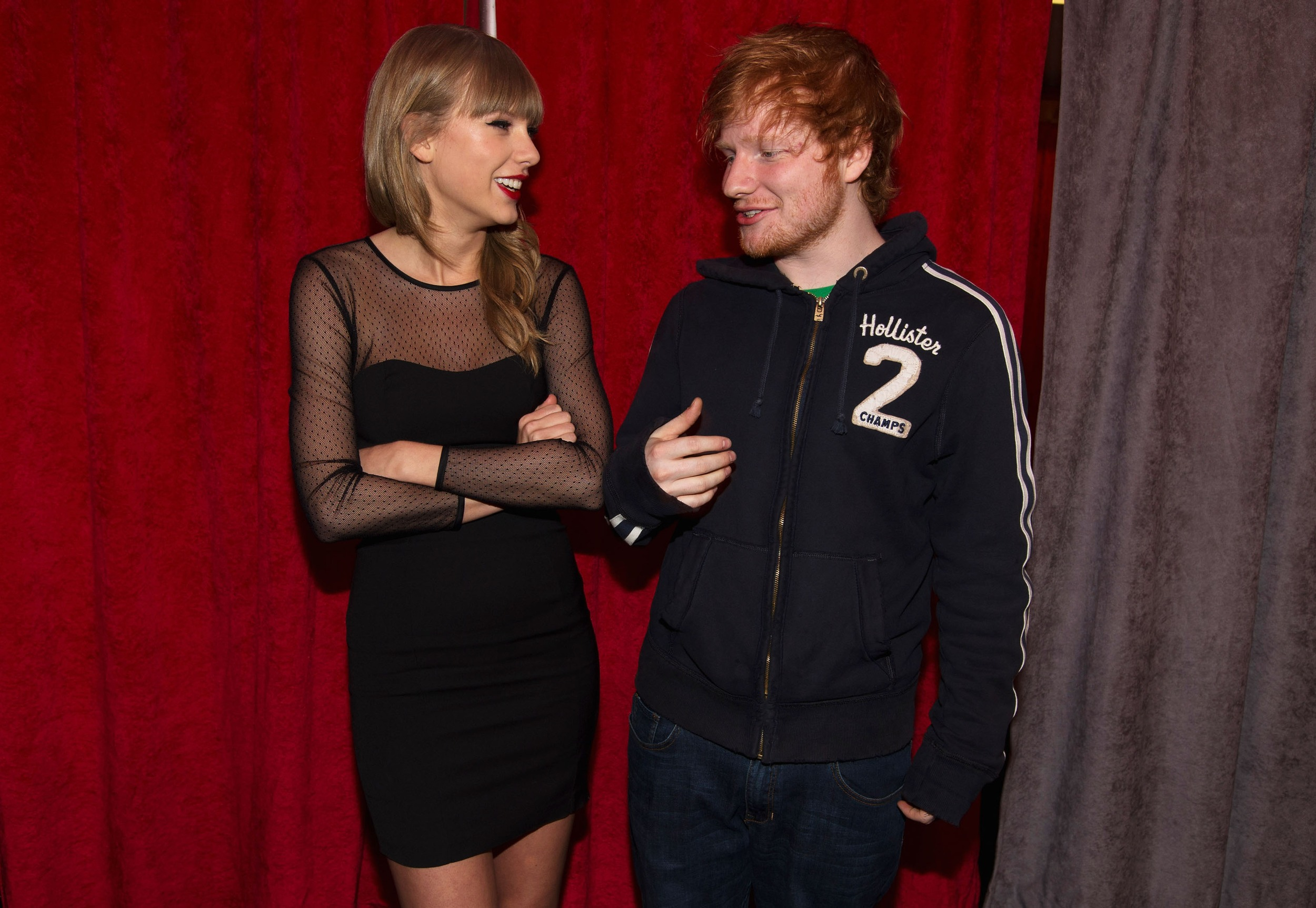 ed sheeran and taylor swift - photo #17