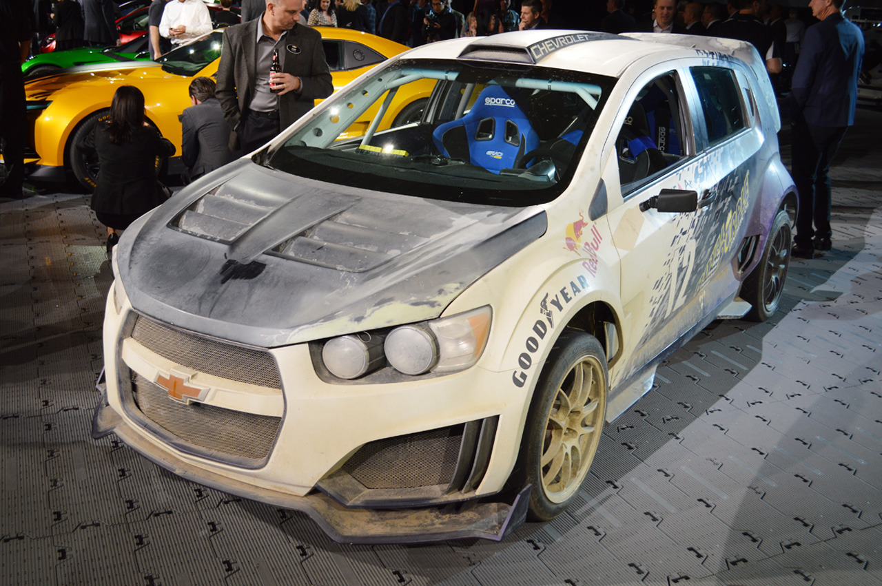 Transformers Chevrolet Sonic RS: SEMA 2013 Photo Gallery - Autoblog