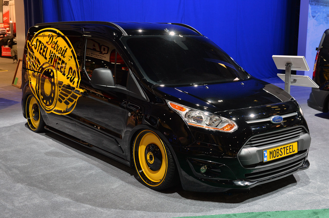 Ford Certified Pre Owned >> Ford vandalizes the SEMA Show floor with 2014 Transit Connect | Autoblog