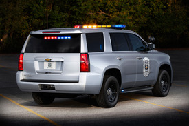 2015 Chevy Tahoe gets Police Patrol Vehicle treatment ...