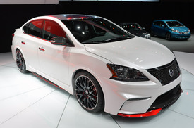 Nissan Sentra Gets Mean With 240 Hp Nismo Concept Autoblog