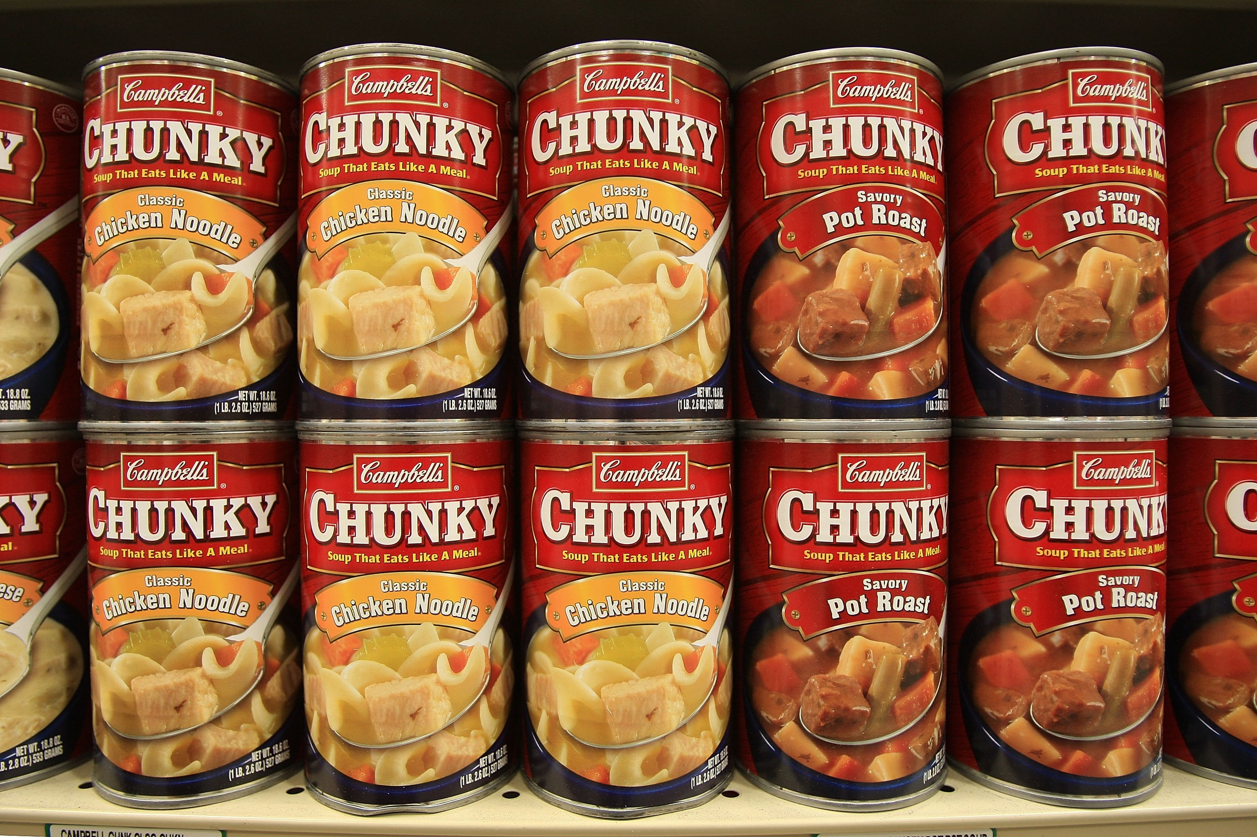 It is an image of Comprehensive Soup Can Label Maker