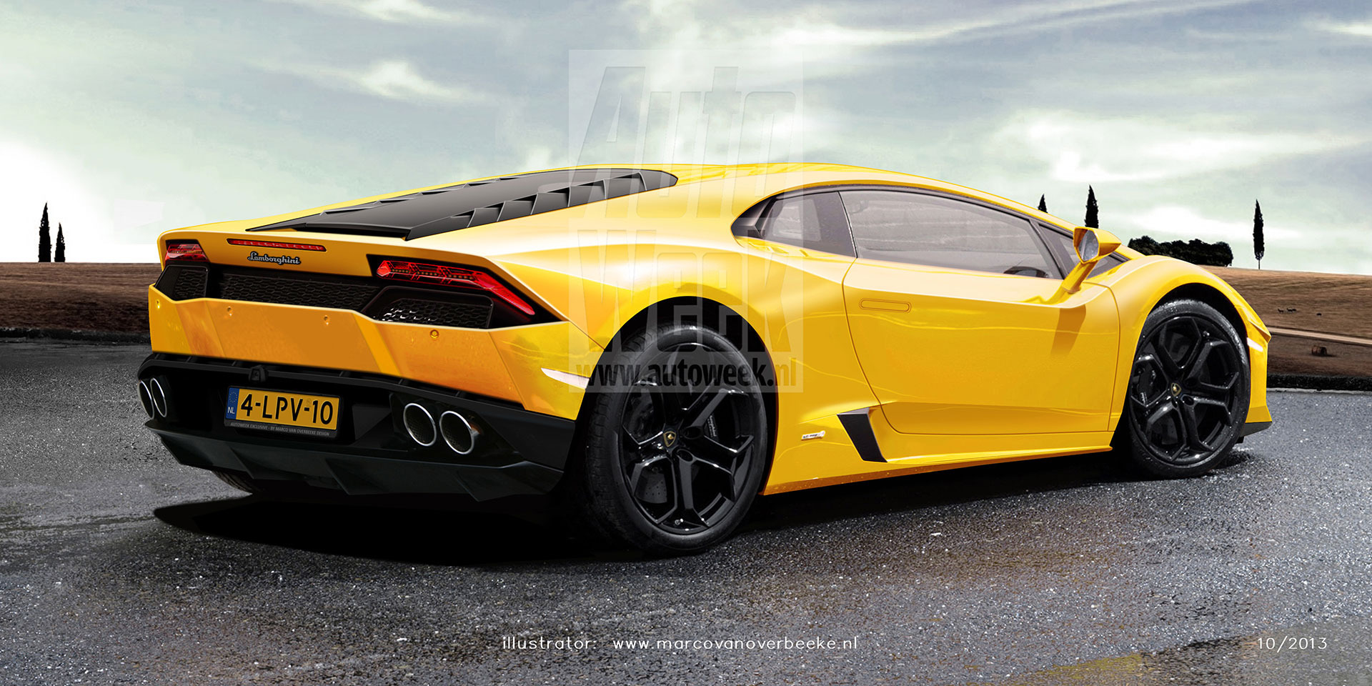 Lamborghini Cabrera Renderings: Auto Week Photo Gallery ...