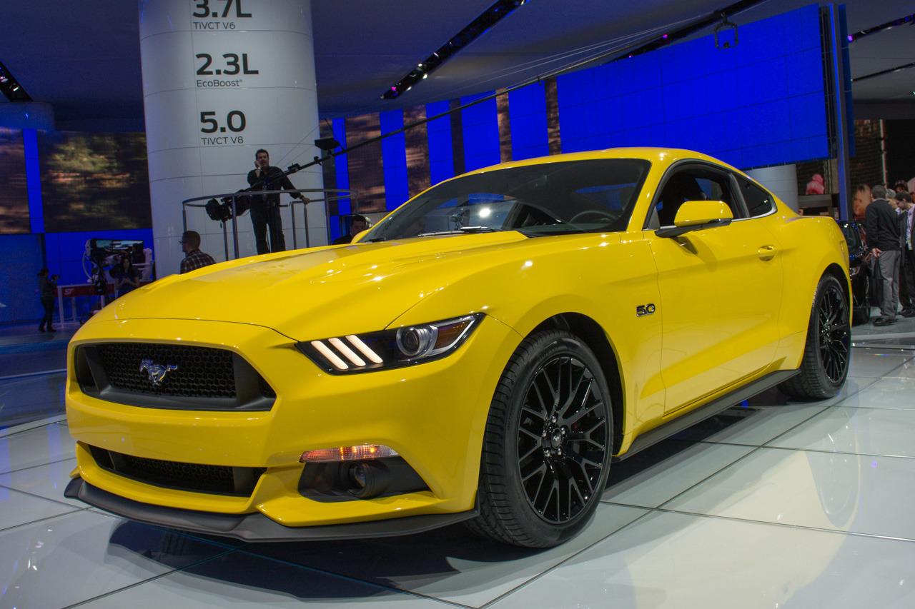2015 ford mustang gt detroit 2014 photo gallery autoblog
