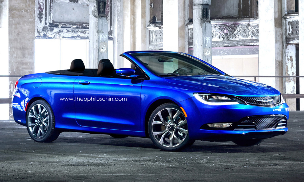 Chrysler 4 Convertible Renders Photo Gallery  Autoblog