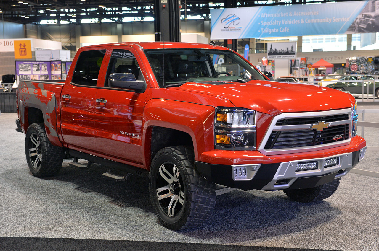 Truck chevy concept truck reaper : 2014 Lingenfelter Reaper: Chicago 2014 Photo Gallery - Autoblog