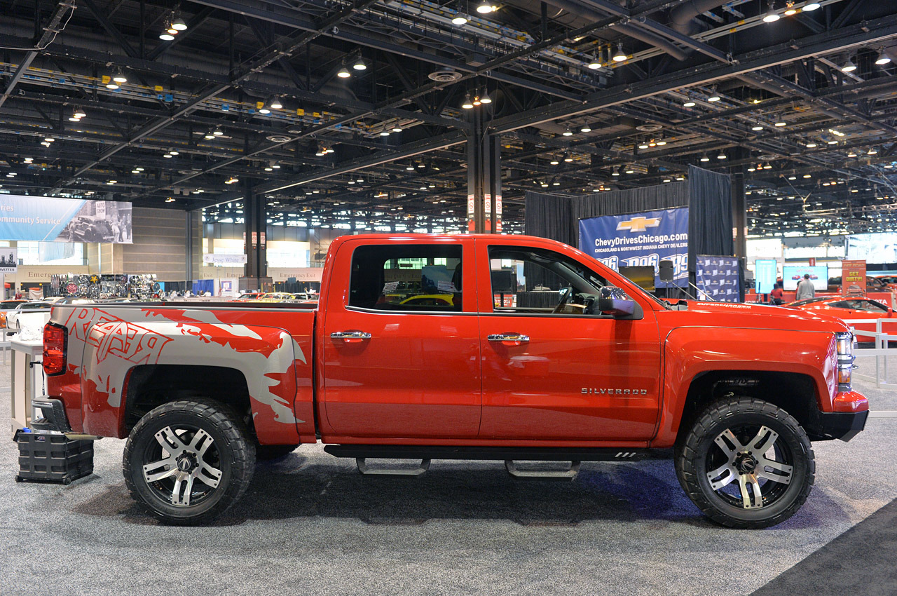 All Chevy black chevy reaper : Chicago 2014 - 2014 Lingenfelter Reaper customized Chevy Silverado ...