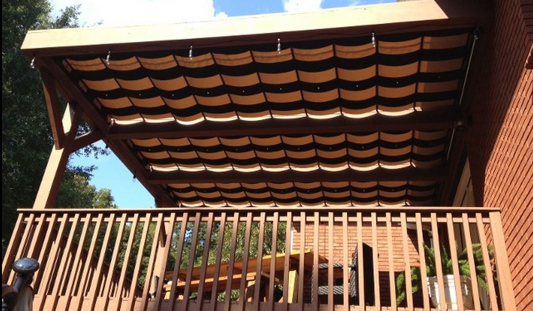 Retractable-Roof Pergolas: Made for the Sun and Shade | AOL Real ... - Pergola Sliding Shade