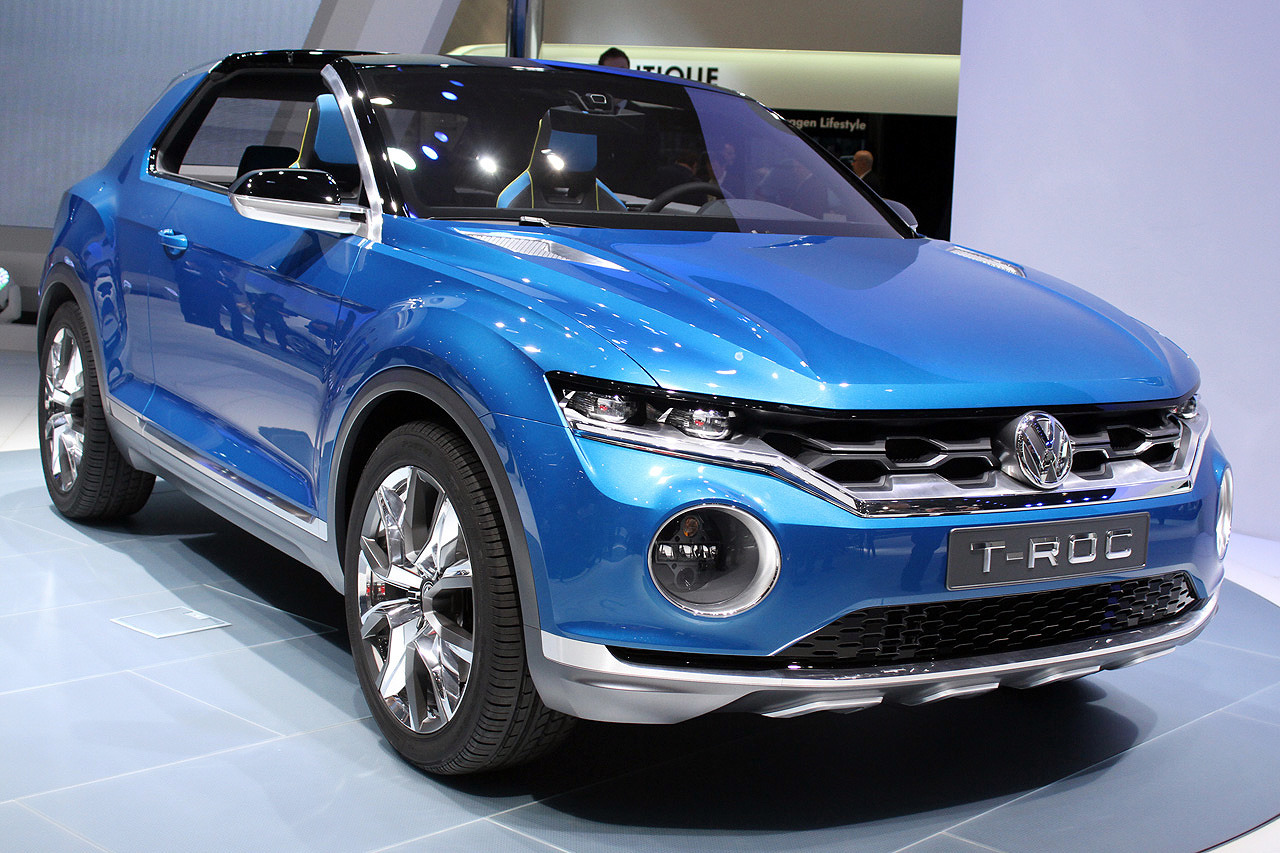 2014 volkswagen t roc concept dark cars wallpapers. Black Bedroom Furniture Sets. Home Design Ideas
