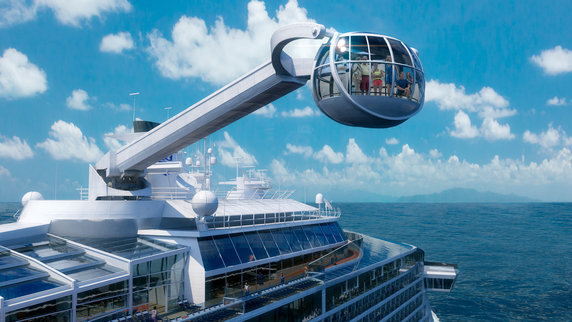 take in the views onboard royal caribbean international s ...