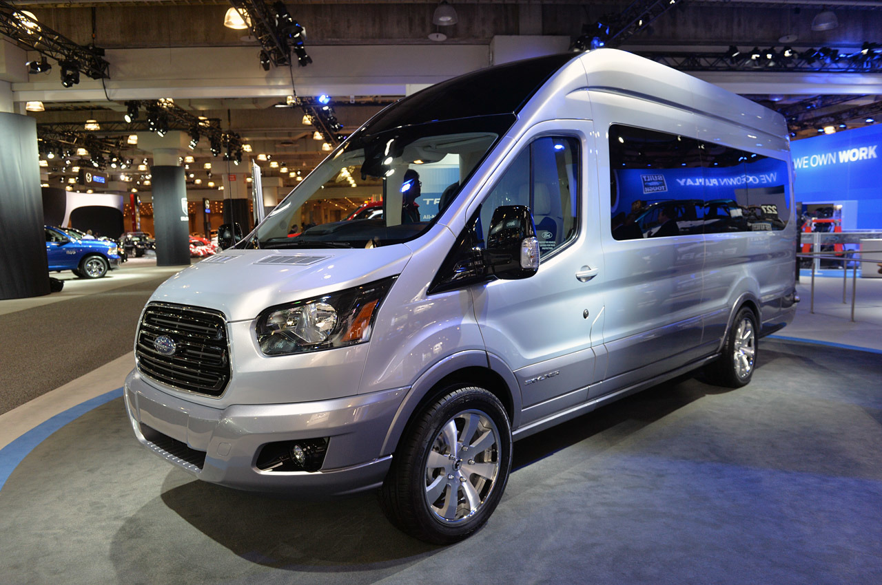 Ford Transit Skyliner Concept New York 2014 Photo Gallery
