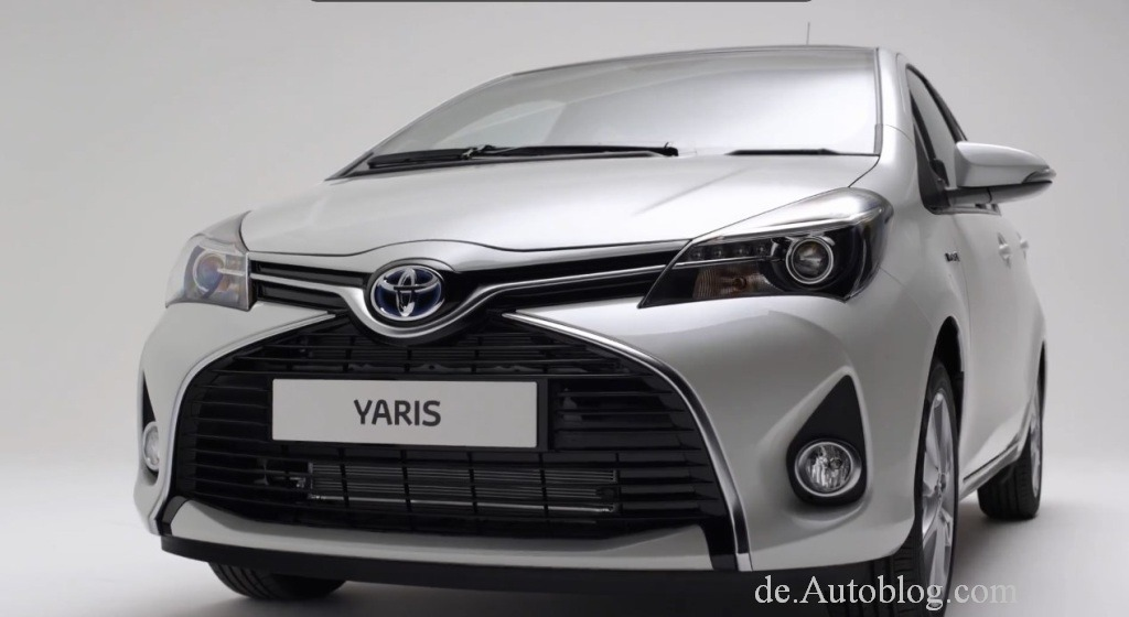 toyota yaris facelift 2014. Black Bedroom Furniture Sets. Home Design Ideas