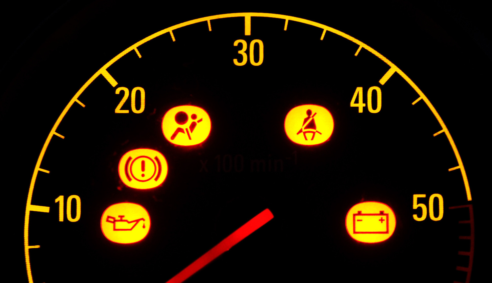 Five Warning Lights You Need To Know